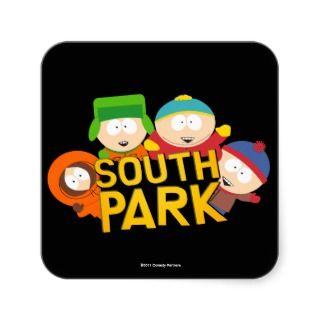 South Park Boys   Round Sticker