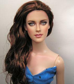 Kristen Stewart ~ Celebrity Portrait OOAK Doll Art Repaint By Pamela