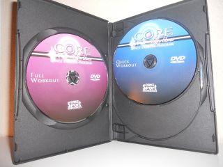 Core Rhythms Starter Dance Exercise Program 4 DVD Set