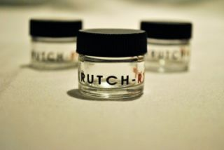 Krutch Rx (3) mini glass extract jars 420 toro illadelph bho wax dab