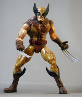 Toy Biz Marvel Legends Series 6 Wolverine Brown and Tan Suit x Men