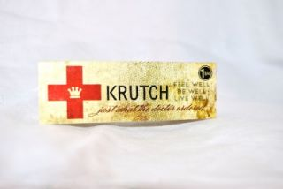 Krutch Rx (1) small glass extract jar 420 toro illadelph bho wax dab