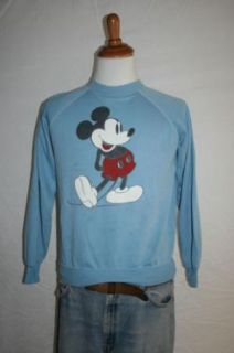 80s Mickey Mouse Disney Blue Sweatshirt Sweater M L Grunge