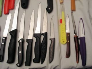 Kitchen Knives & Oneida, Wusthof, Henckels, Farberware, Kuhn Rikon NR
