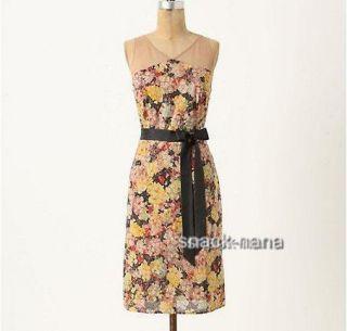 New Anthropologie Summer Grown Dress Size 2 4 8 10