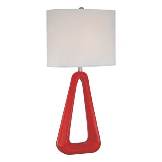 George Kovacs P050 2 Contemporary Modern Red Table Lamp