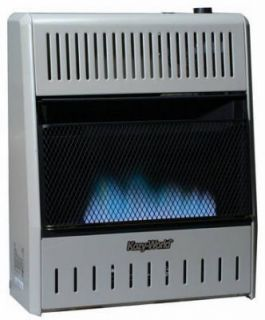 Kozy World GWD208 20 000 BTU Blue Flame Dual Fuel Vent Free Wall Mount