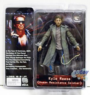 NECA The Terminator Kyle Reese Human Resistance Soldier Action Figure