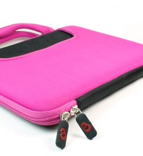 Kroo Pink Clam Shell Case Dice Bag for HP Touchpad