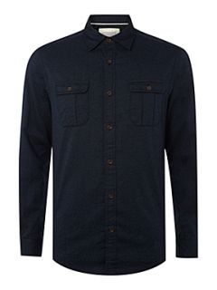 Howick Clubhouse Utility long sleeved shirt Navy