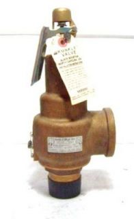 Kunkle Safety Relief Valve 6021HG01 Am 1 1 2 x 2
