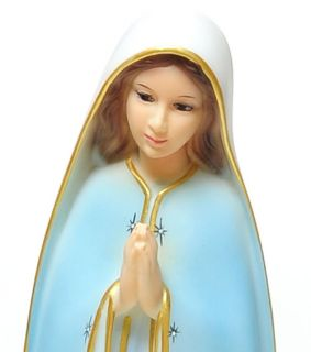 13 inches Our Lady of Lourdes Religious Statues Figure Holy Catholic