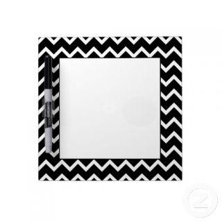 Black and White Zig Zag Pattern. Dry Erase Board