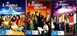 Laguna Beach Season 1 2 3 9 DVD Set MTV Series All New