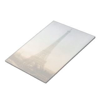 The Eiffel tower in Paris Notepad