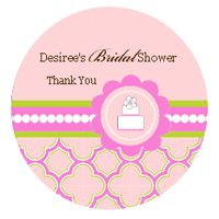 Baby Shower Birthday Wedding Mod Party Kit Decorations Labels