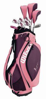Wilson Hope Womens Ladies Complete Golf Club Set w Bag