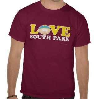 Cartman   Love South Park Tshirts