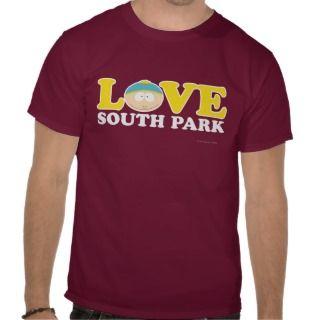 Cartman   Love South Park Tshirts
