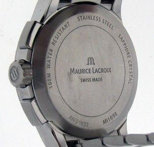 Maurice Lacroix Stainless Steel Miros Sport Quartz Chrono Ref NO1832 s