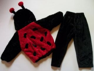 Ladybug Halloween Costume Jacket Pants Toddler 24 Months 2