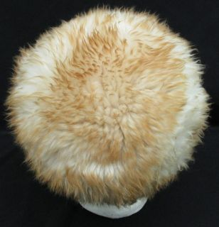 Vtg 60s Marche Dyed Tuscan Lamb Italian Shearling Fluffy Fur Snow