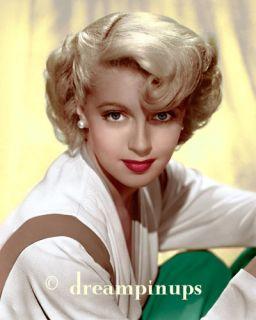 Lana Turner 1943 Dazzling Color Portrait Blonde Waves