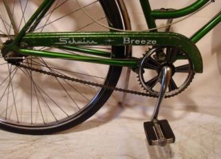 Ladies 3 Speed Road Cruiser Bike Vintage Bicycle Green 73