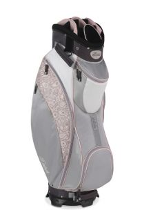 New Datrek 2012 D Light Ladies Golf Cart Bag Pink Paisley