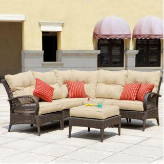Laguna Seating Indoor Outdoor Patio Lawn and Garden Furniture Set