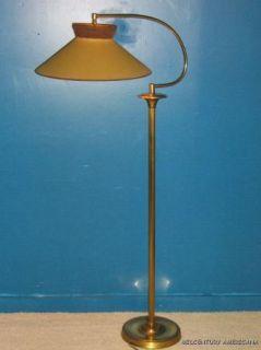 Mid Century Vintage 1930s 1940s Art Deco Floor Lamp