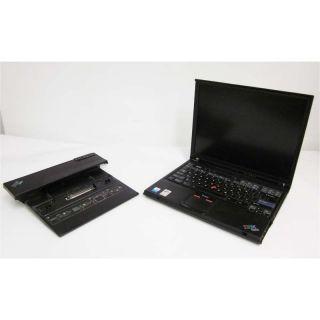 IBM ThinkPad T41 1 6GHz 256MB Laptop w Docking Station