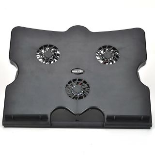 Fan Laptop Stand Cooling Cooler Pad for Notebook Laptop PC