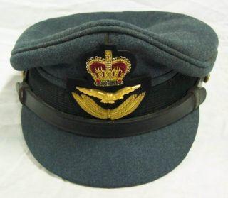 Vintage German Military Hat Cap Officer Navy Airforce