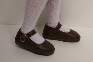 Very DK Brown Basic Doll Shoes for Kish 14 Lark Piper Wren♥