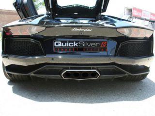 Lamborghini Aventador LP700 Performance Exhaust by Quicksilver Exhaust