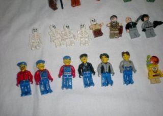 Large Lot Lego Figures Blocks Sponge Bob Indiana Jones Star Wars