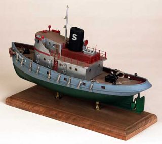 Model Shipways Despatch 9 Tug Wood Model Kit SHIP New