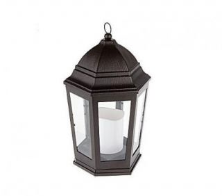 Bethlehem Lights Battery Operated Lantern Bronze