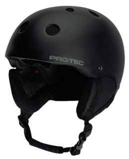 ProTec  Classic Snow  Matte Black  Large  Ski & Snowboard Helmet