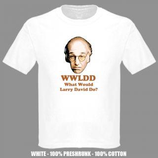 Larry David WWJD TV Show Comedy T Shirt
