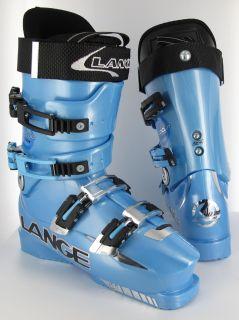 Lange World Cup ZC ZC Crazy Blue 2009 Ski Boots 26 5