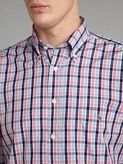 Gant Long sleeve multi gingham shirt Pink