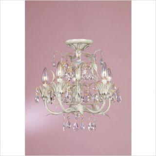 Laura Ashley Lighting Lavenham Five Light Mini Chandelier