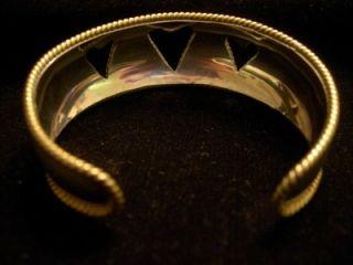 Laton TB 63 Sterling Silver Twisted Rope Heart Bangle Cuff Bracelet