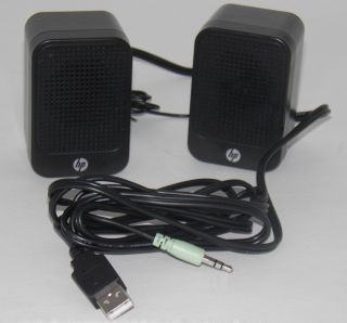 HP Multimedia Computer Speakers 630797 001 Slimline PC