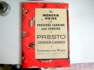 Presto Model 7B 4973 Pressure Cooker Canner Extra Large 16 Qt