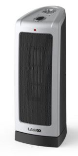 Lasko 1500W Ceramic Electric Space Heater 1500 w Portable Compact