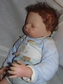 Lifelike Baby Boy Doll So Truly Real Retired Luke by Waltraud Hanl