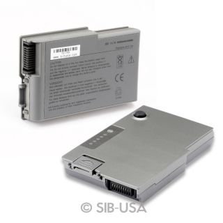 Battery for Dell Latitude D500 D505 D510 D520 D530 D600 D610 PP11L 312